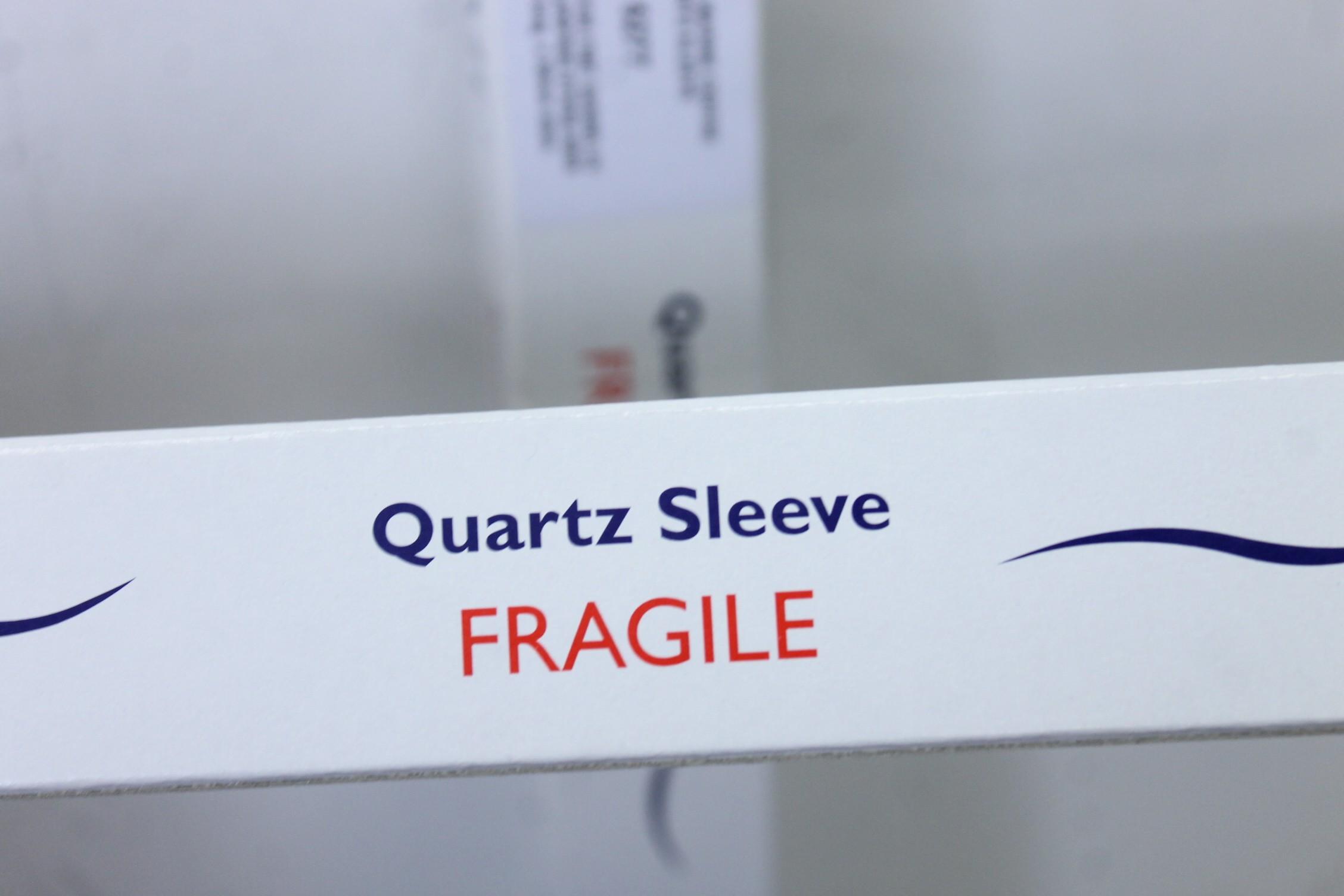 BNIB 2 X TMC High Quality Glass Quartz Sleeve Tubes Pro Clear Evolution 9