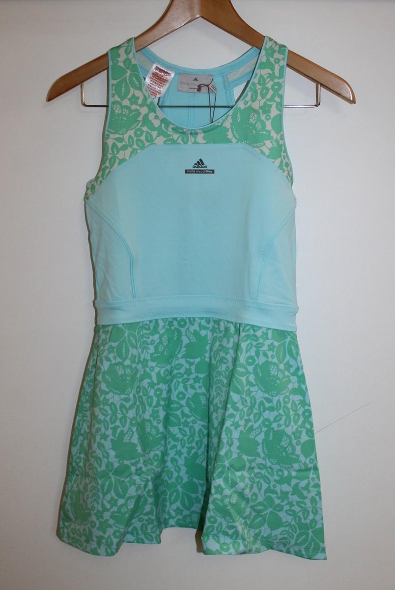 BNWT STELLA MCCARTNEY ADIDAS Girls Baricade Tennis Dress & Shorts 11-12 Yrs. 3