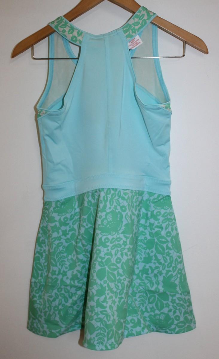 BNWT STELLA MCCARTNEY ADIDAS Girls Baricade Tennis Dress & Shorts 11-12 Yrs.