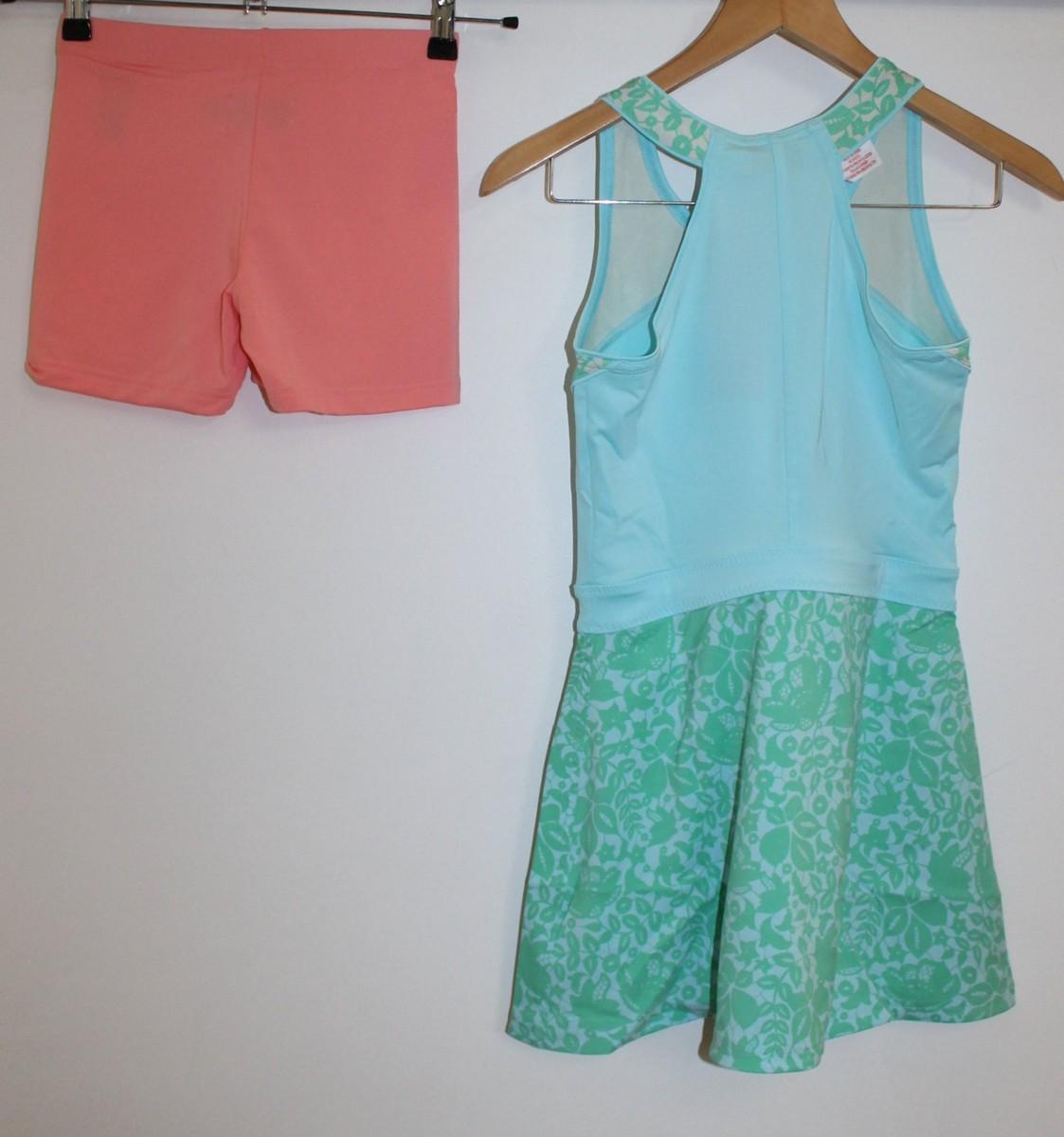 BNWT STELLA MCCARTNEY ADIDAS Girls Baricade Tennis Dress & Shorts 11-12 Yrs. 6